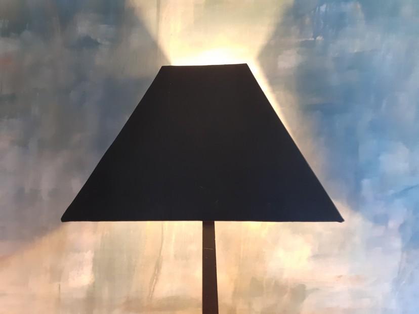 abat-jour carré pyramide