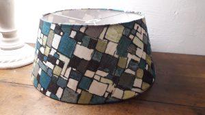 Abat-jour tambour avec un tissu Lalie Design