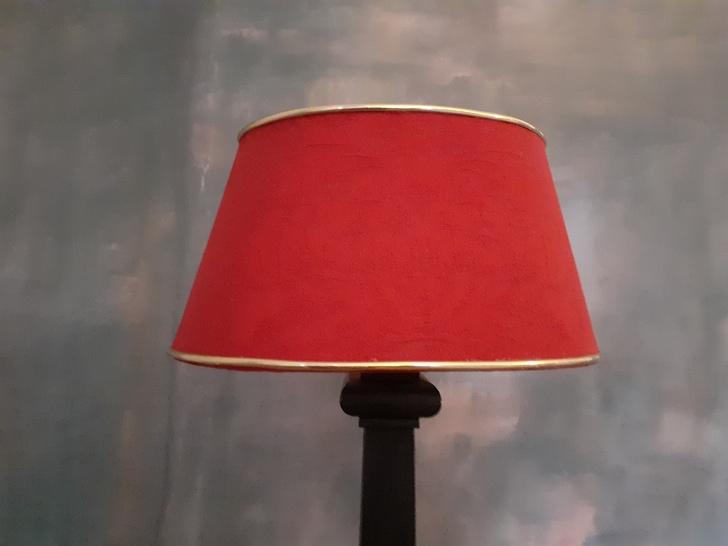 abat-jour lampe bouillotte